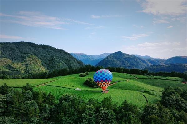 热气球项目助力全域旅游