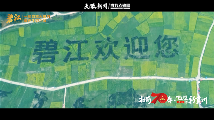 【飞越新贵州】碧江:一座自然天成的绿色生态之城丨最美我的县