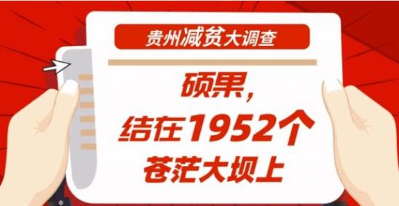 【bwin888必赢亚洲减贫大调查】硕果,结在1952个苍茫大坝上
