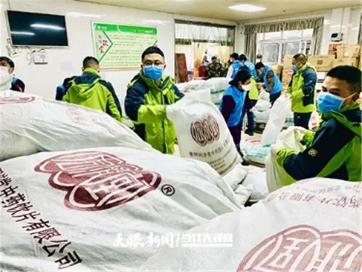 贵州为鄂州捐赠的10吨中药,送到了!