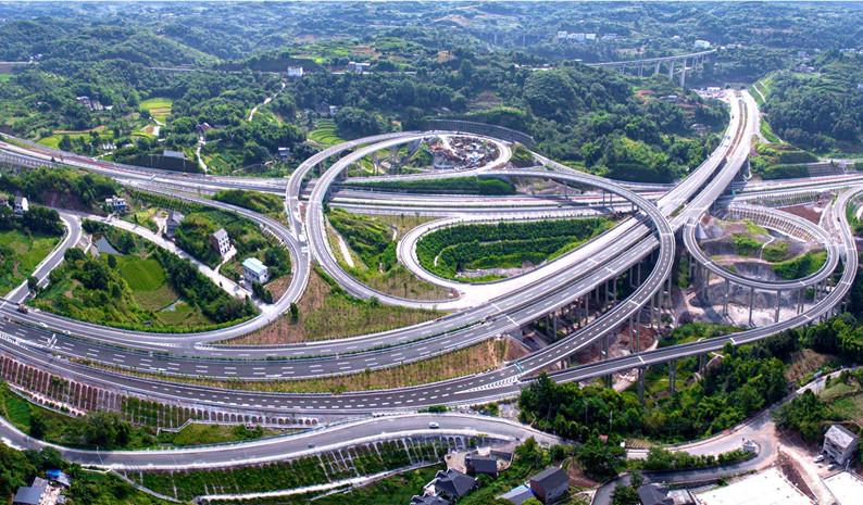"""黔渝""""大交通""""新进展!亚博体育手机app下载交建重点工程南两高速建成通车"""