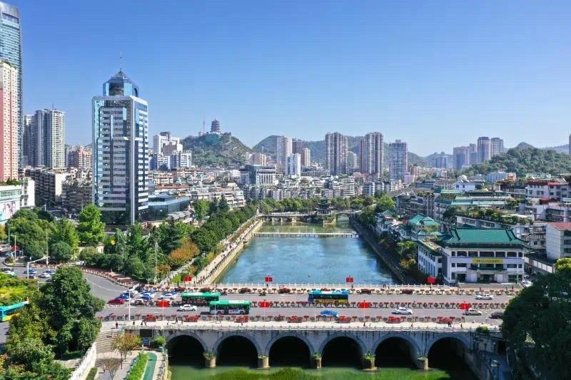 贵阳市9月空气质量排名全国第三!