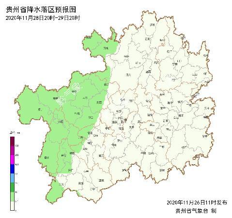 """阴雨天气咋还不下线!周末的""""尾巴"""",贵州大部小幅升温"""