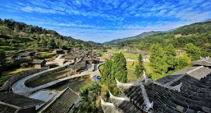 王家坪是施秉县马溪乡的一个村,这里山地资源丰富,发展特色山地经济大