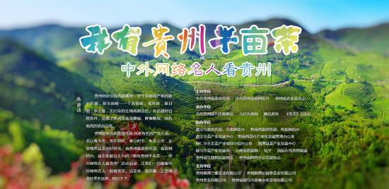 """""""我有贵州半亩茶""""网络互动活动启动"""