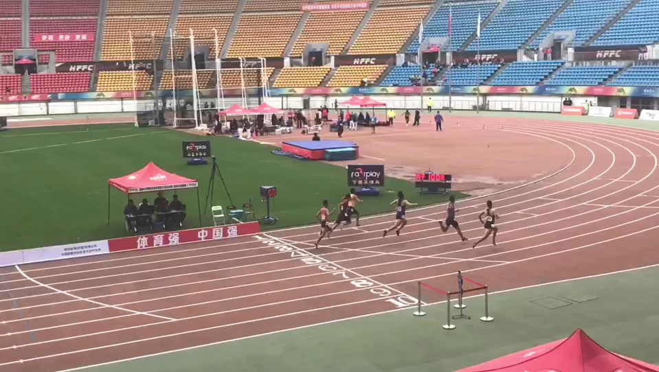 2018年全国田径冠军赛(亚运会选拔赛)在贵阳奥体中心激情开赛
