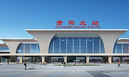 【省内】贵阳北站屋盖钢结构整体提升工程启动