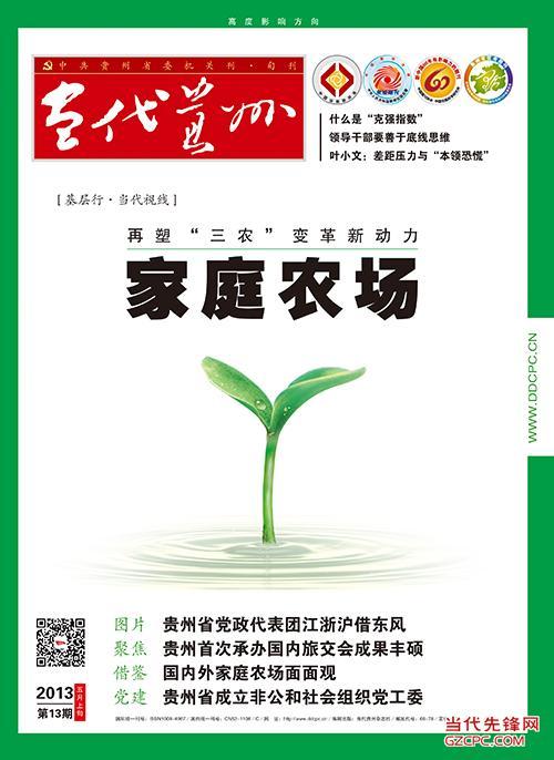 当代贵州2013第13期(5月上)