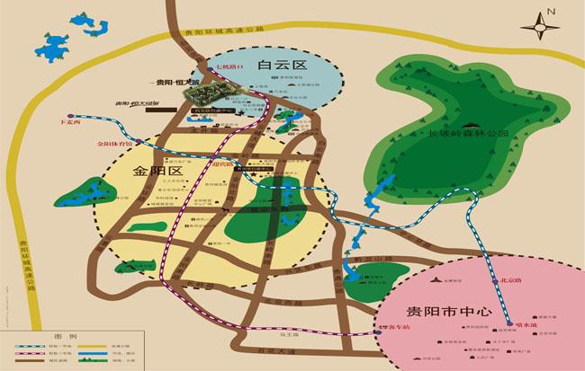 210国道,贵阳北站
