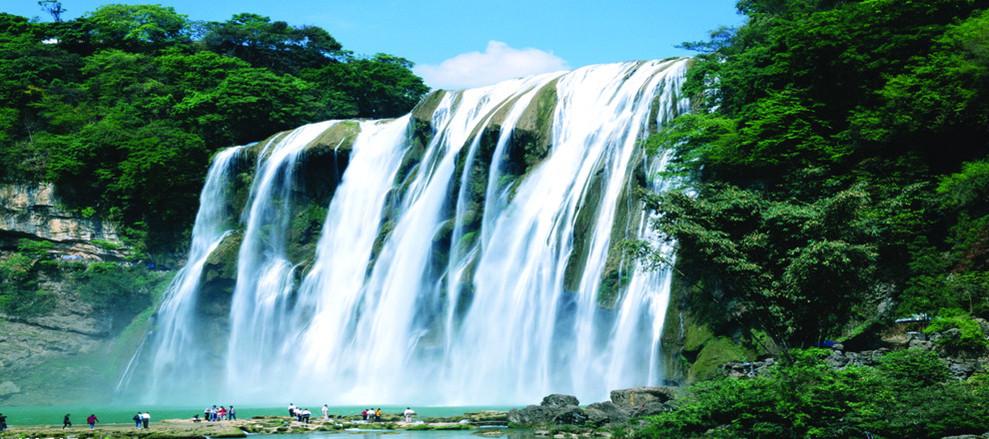 壁纸 风景 旅游 瀑布 山水 桌面 989_439