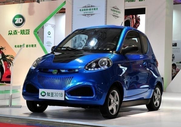 2,知豆电动车公司是吉利控股的电动汽车生产企业,以生产轻量化,小