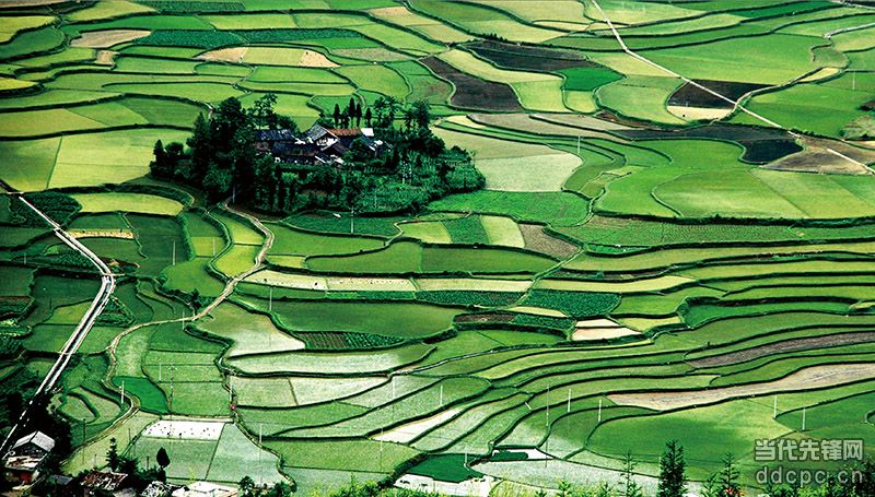 贵州省惠水县雅水镇抵麻村境内原生态自然风景完好,风光旖旎,水美鱼肥