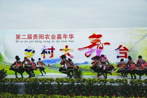 第二届贵阳农业嘉年华活动进行图片