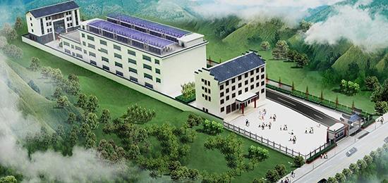 贵安新区环高峰山产业经济示范带有机农产品加工基地布局图(贵安