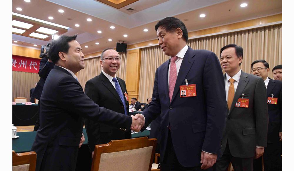 栗战书参加贵州代表团审议《政府工作报告》