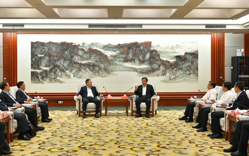 省政府与宝能集团签订战略合作协议