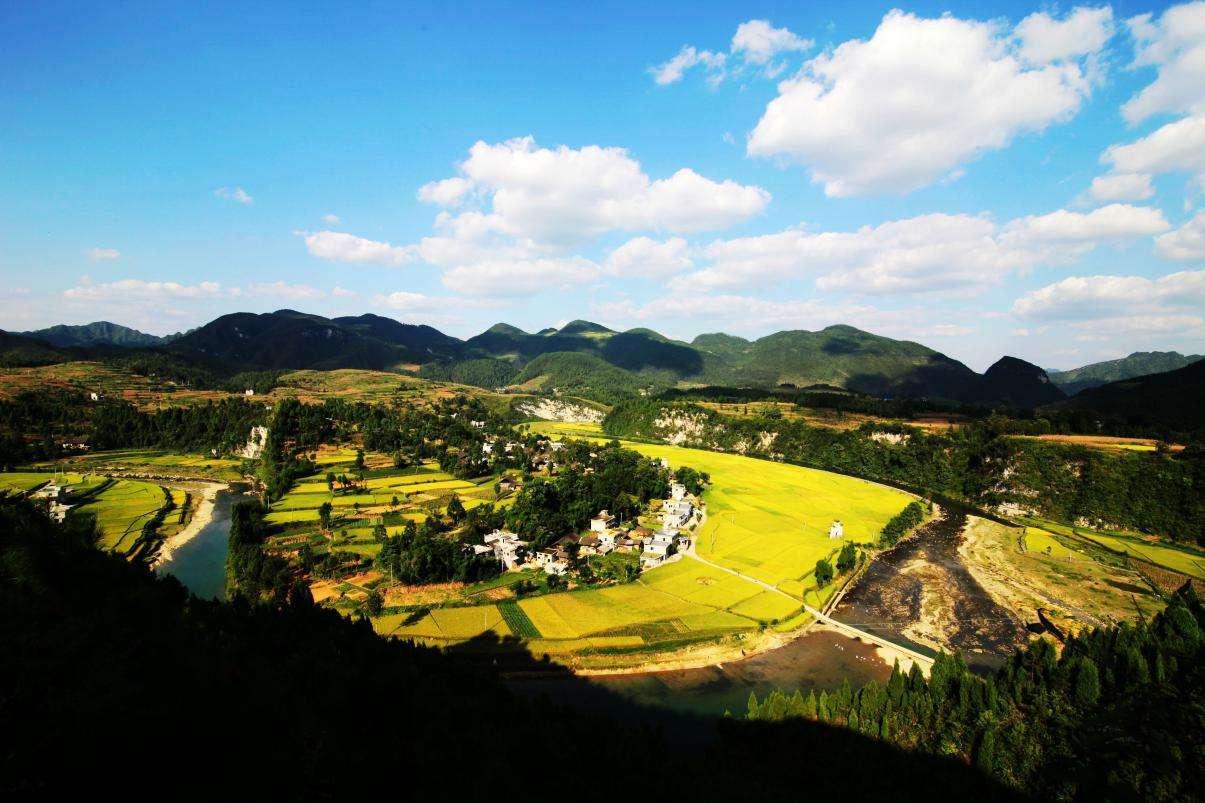 凤冈茶海之心景区——玉龙山宝景区.图片来源网络