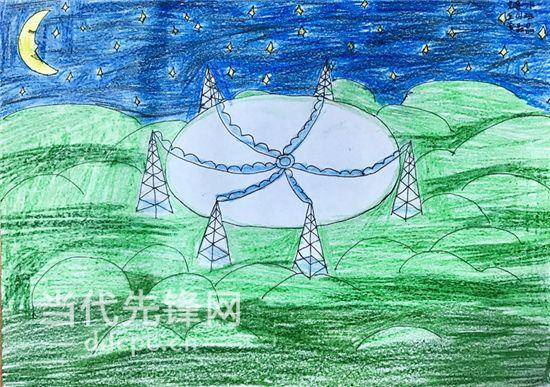 五年级画画作品秋天风景
