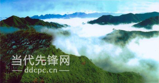 图为黔南州三都县都柳江风景名胜区