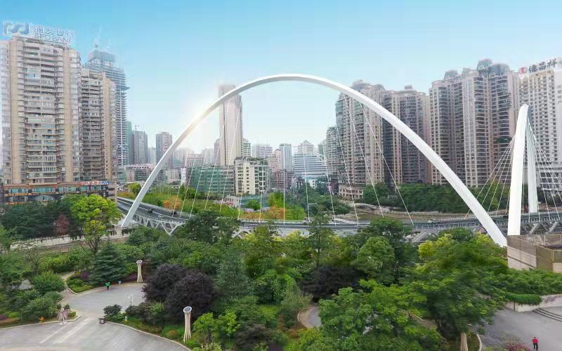 贵阳首座双层大桥已完工65% ,元旦节有望建成通车