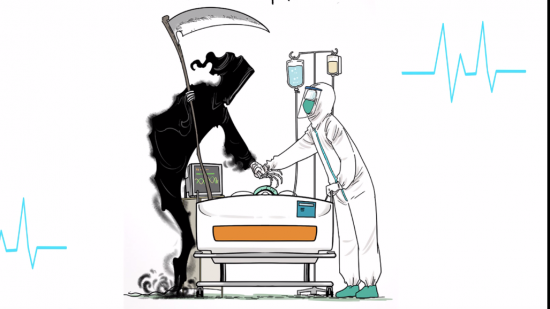 【天眼漫画】苟利国家生死以 致敬坚守一线的逆行者