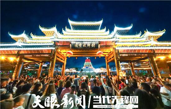 【暑期游·亚博体育手机app下载攻略】湘渝游客为何会青睐玉屏侗乡田坪小镇