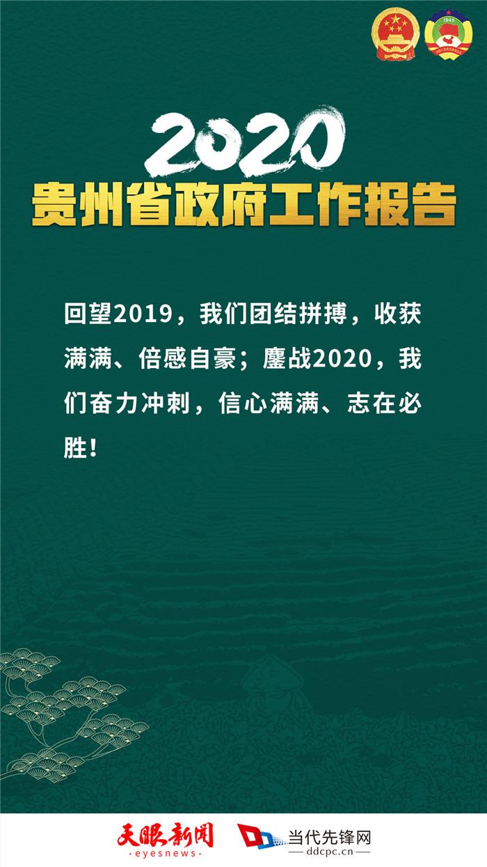 """句句燃!海报再现贵州省政府工作报告的""""高光时刻"""""""
