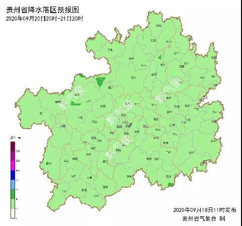 未来三天贵州多地阴天或多云,最高气温可达27℃!